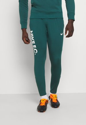 FC  - Tracksuit bottoms - dark atomic teal/white/healing jade