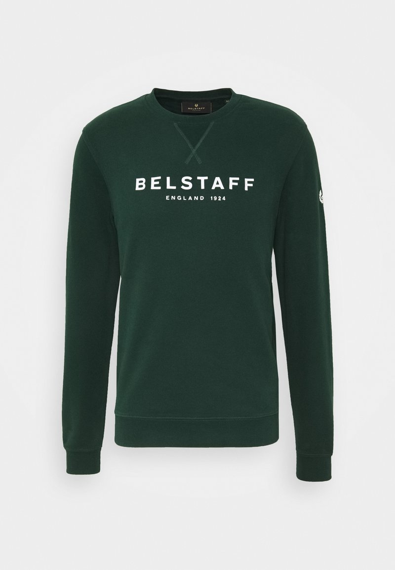 Belstaff - Mikina - pine/off-white