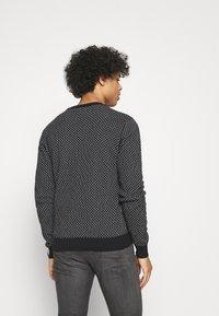 Blend - Stickad tröja - black - 2