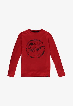 Longsleeve - fiery red