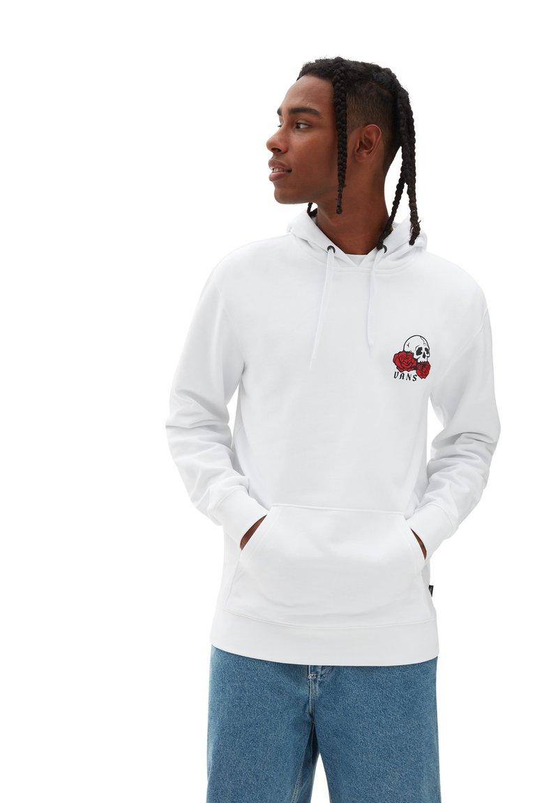 Vans - Hoodie - white