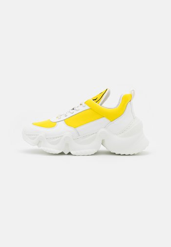 CAPSULE SMILE DONNA  - Sneakers laag - yellow