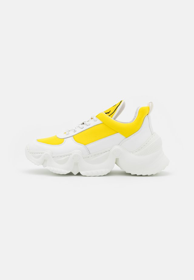 CAPSULE SMILE DONNA  - Sneaker low - yellow