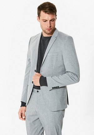 Suit jacket - light grey melange