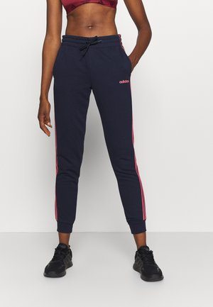 PANT - Tracksuit bottoms - dark blue/light pink