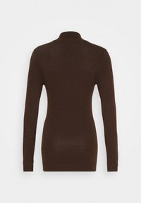 Object Tall - OBJTHESS ROLLNECK  - Jumper - chicory coffee/melange - 1