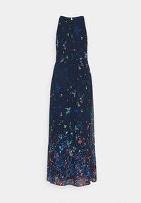 Esprit Collection - PRINT FLOWER - Maxi dress - navy - 6