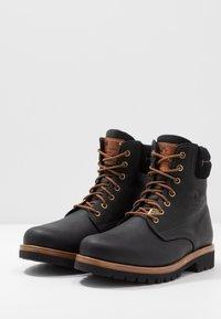 Panama Jack - IGLOO - Šněrovací kotníkové boty - black - 2