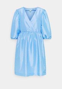 Monki - CELIA DRESS - Vardagsklänning - blue light - 4