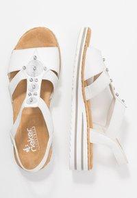 Rieker - Platform sandals - weiß - 3