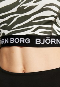 Björn Borg - CROPPED TANK CHINA 2-IN-1 - Sports shirt - jet stream - 5