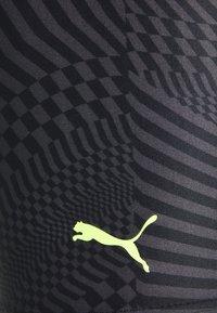 Puma - SWIM PSYGEO JAMMER - Swimming shorts - black - 2