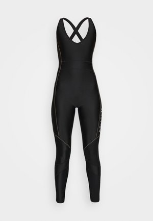 DRIVE FORCE CAT SUIT - Mono deportivo - black/orange