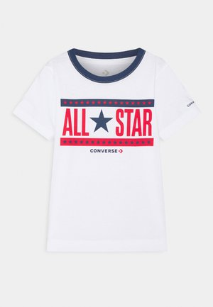 STARS AND STRIPES - T-shirt con stampa - white