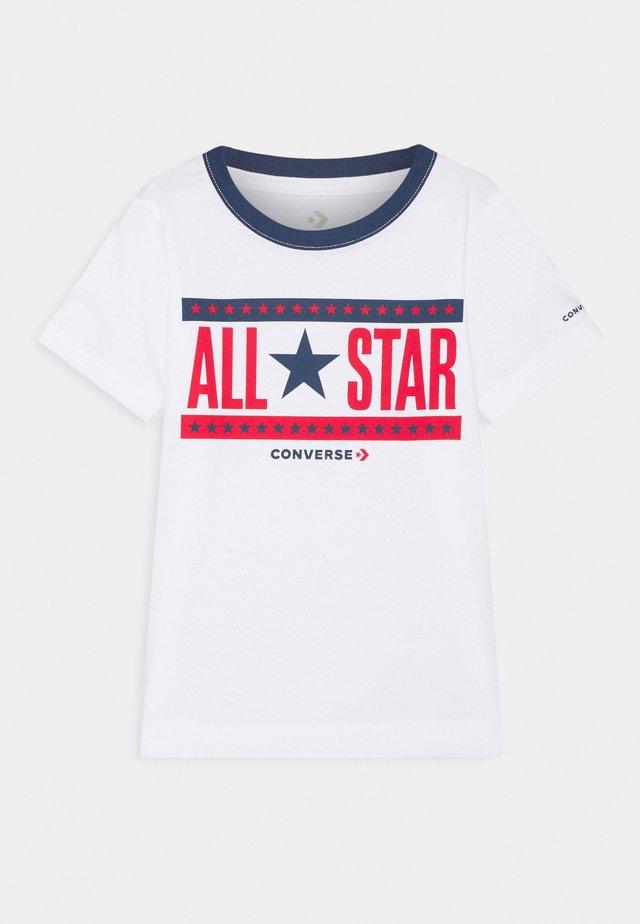 STARS AND STRIPES - Print T-shirt - white