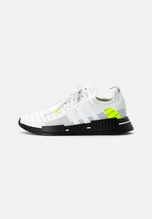 NMD_R1 UNISEX - Trainers - white/crystal white/team solar yellow