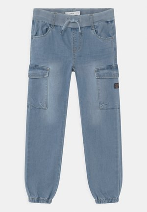 NMMBOB - Relaxed fit jeans - light blue denim