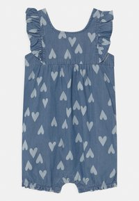 Carter's - CHAMBRAY HEART - Jumpsuit - blue - 0