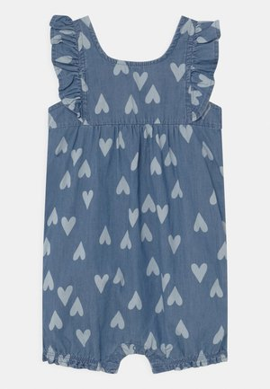 CHAMBRAY HEART - Combinaison - blue
