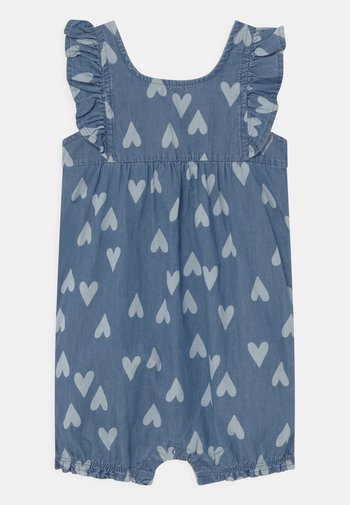 CHAMBRAY HEART - Jumpsuit - blue