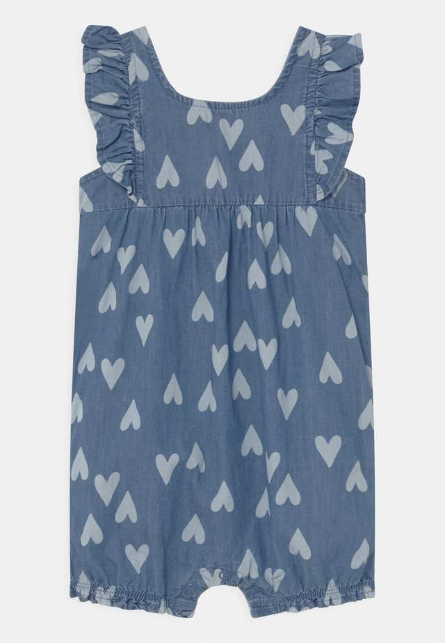 CHAMBRAY HEART - Overal - blue