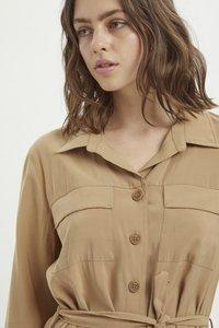 My Essential Wardrobe - Shirt dress - indian tan - 3