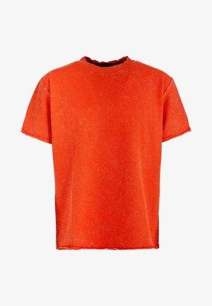 BRONSON - Print T-shirt - vintage sunrise orange