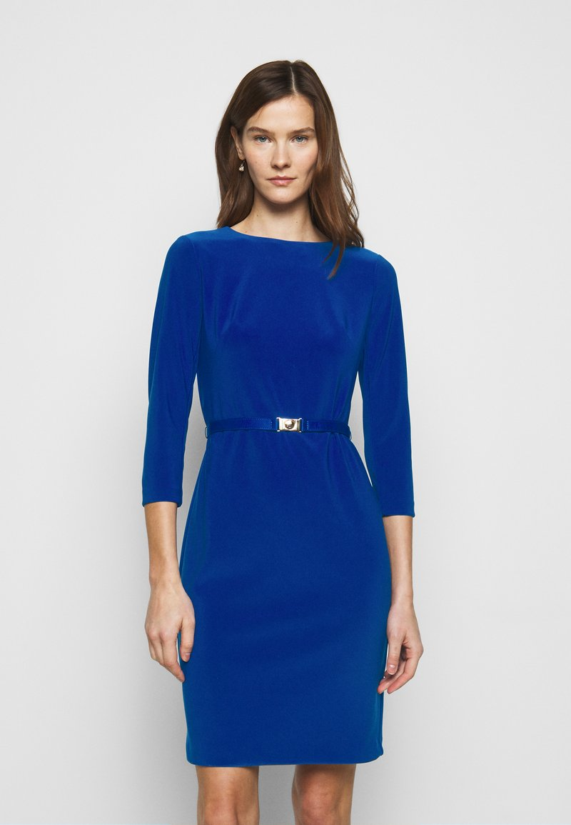 Lauren Ralph Lauren - BONDED DRESS - Shift dress - french ultramarin