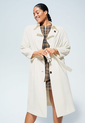 WILL - Trenchcoat - cremeweiß