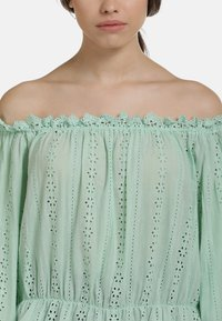 myMo - BLUSE - Blouse - mint - 3
