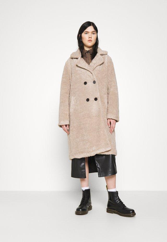 MID COAT - Zimní kabát - natural