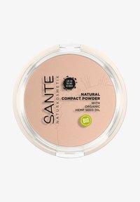 Sante - NATURAL COMPACT POWDER - Powder - 01 cool ivory - 0