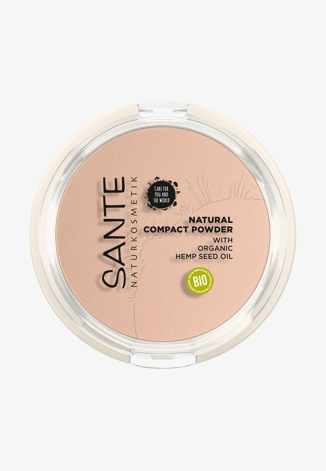 NATURAL COMPACT POWDER - Pudder - 01 cool ivory