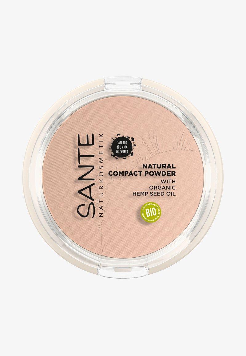 Sante - NATURAL COMPACT POWDER - Powder - 01 cool ivory