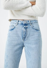 PULL&BEAR - Jeans a sigaretta - blue - 4