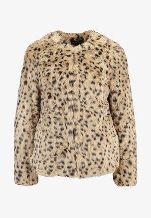 ANIMAL EDGE TO EDGE - Winter jacket - beige