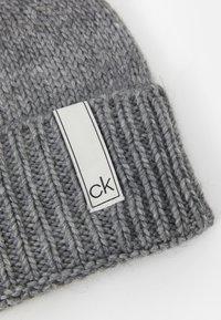 Calvin Klein - BEANIE - Čepice - grey - 2