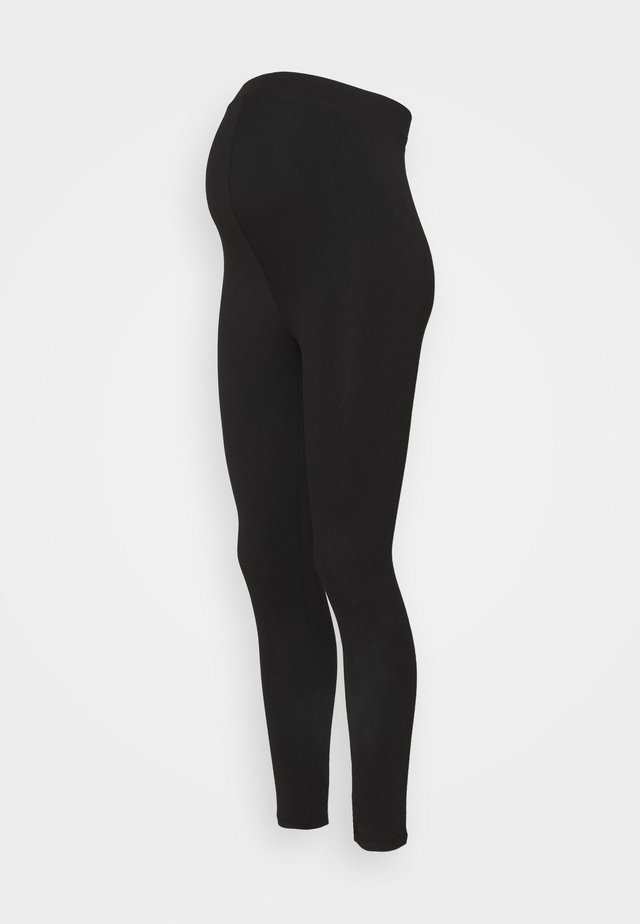 WITH WAISTBAND - Leggings - black