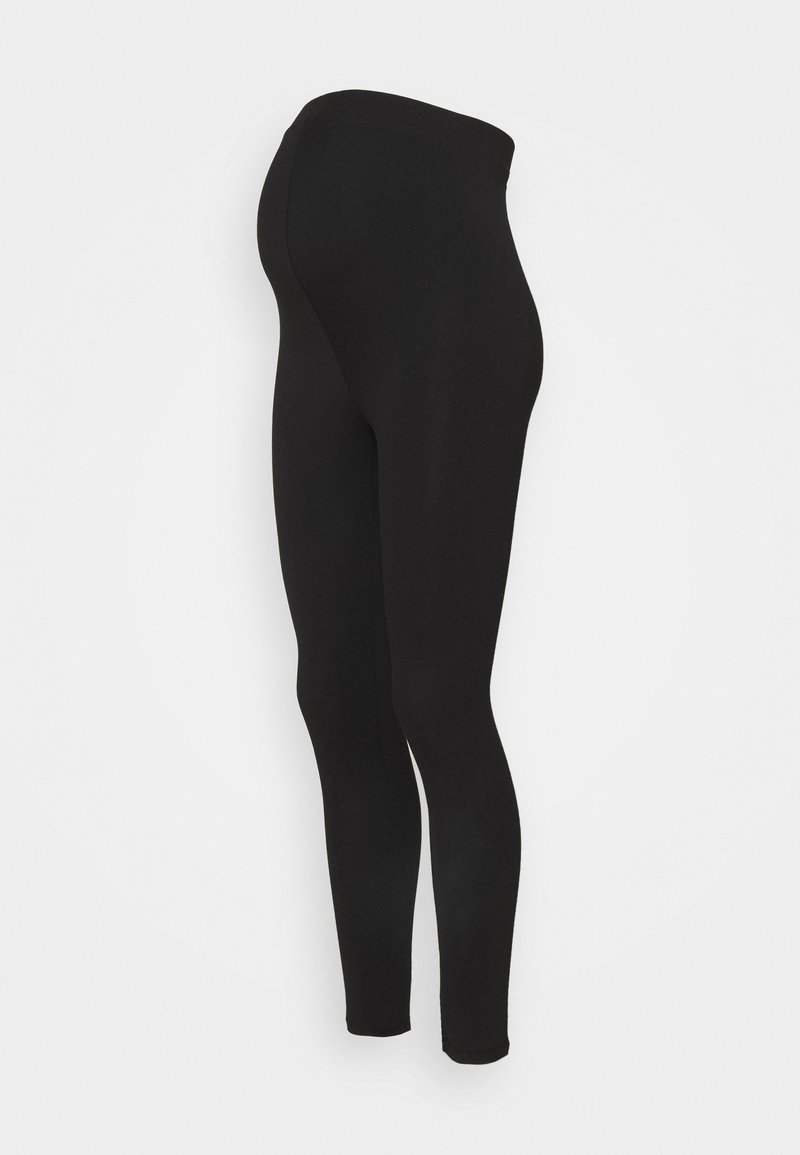 Missguided Maternity - WITH WAISTBAND - Leggings - Trousers - black