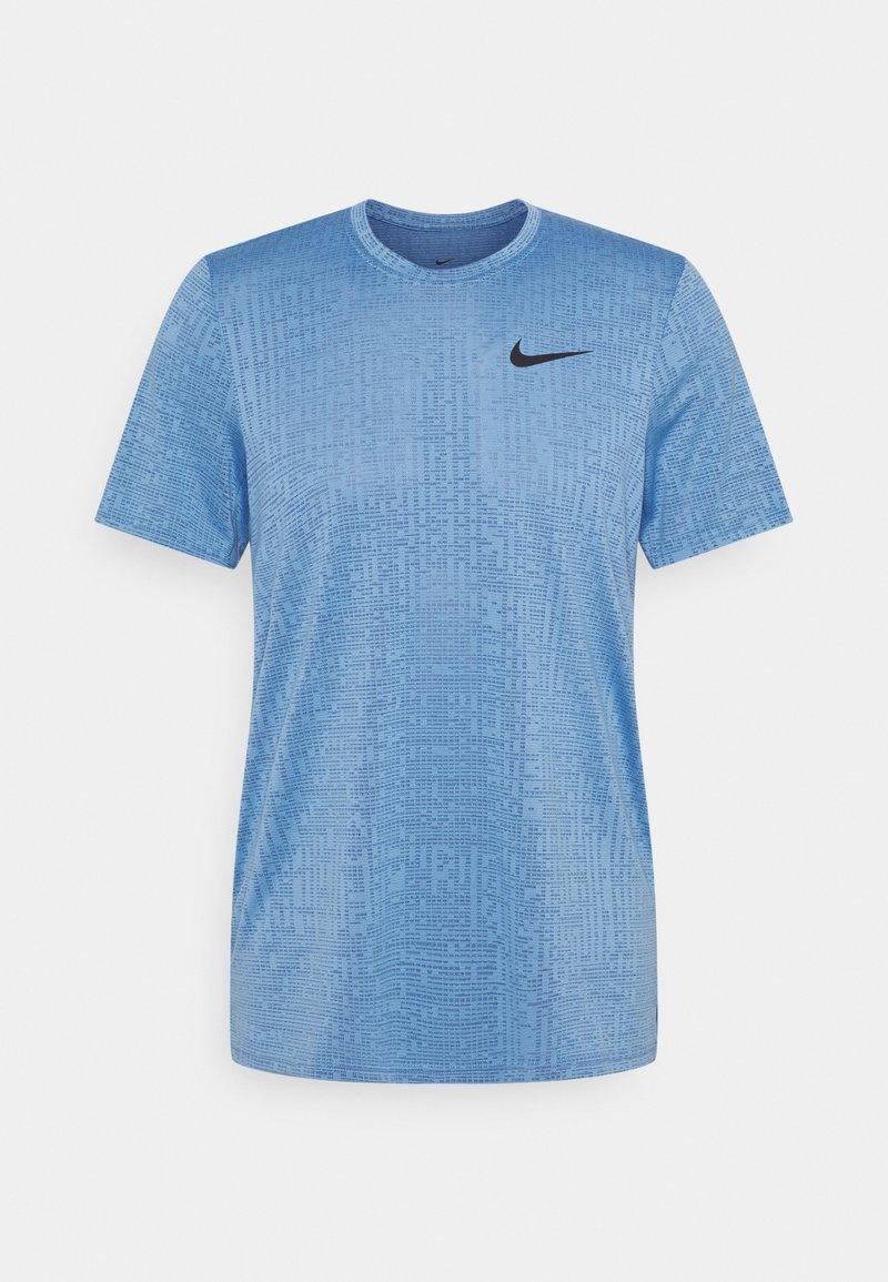 Nike Performance - T-shirts basic - coast/obsidian/black