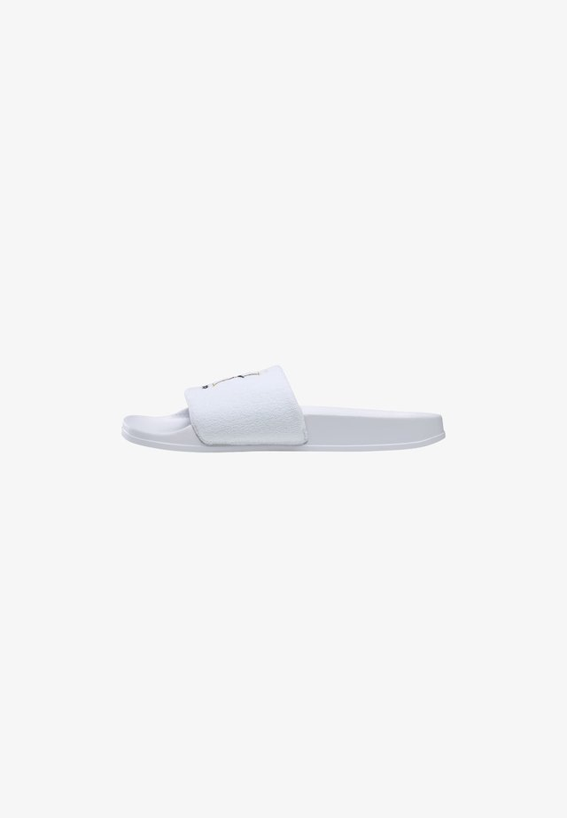 REEBOK CLASSIC SLIDES - Tongs - white