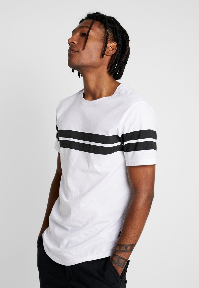 Jack & Jones - ONSBIKE LONGY TEE - Print T-shirt - white