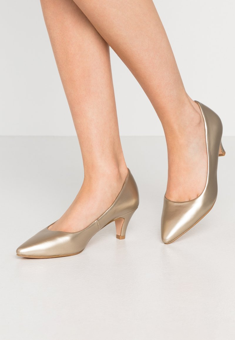 Anna Field - Klassiske pumps - gold