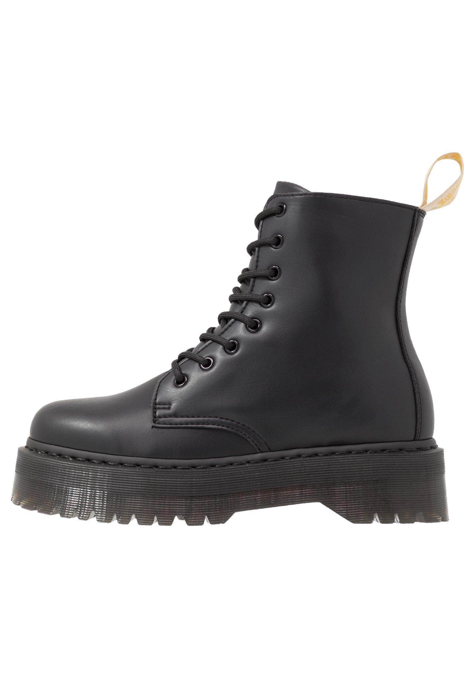 Men VEGAN JADON II MONO - Lace-up ankle boots - black