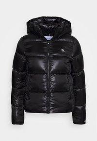 Calvin Klein Jeans - SHINY PUFFER - Winterjas - black - 0