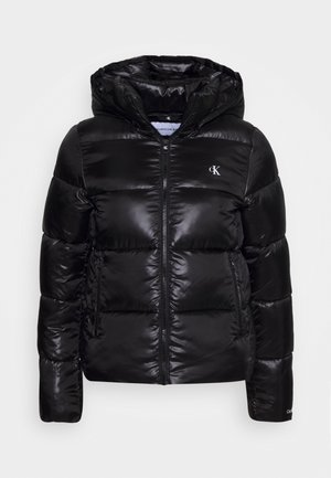 SHINY PUFFER - Winterjacke - black