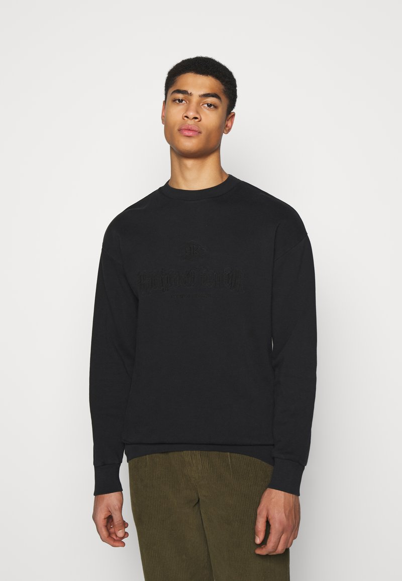 Han Kjøbenhavn - ARTWORK CREW - Sweatshirt - faded black