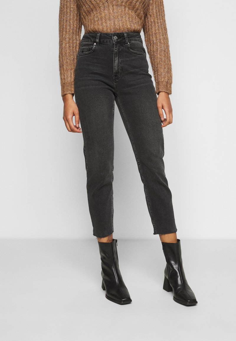 ONLY Petite - ONLEMILY LIFE  - Jeans Skinny Fit - black denim
