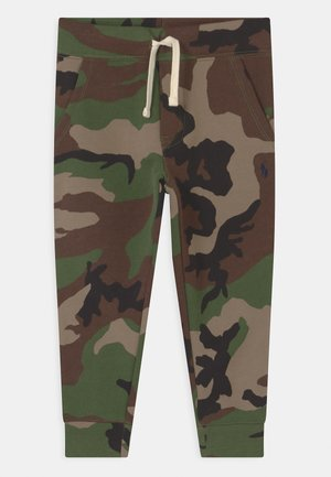 BOTTOMS - Tracksuit bottoms - green