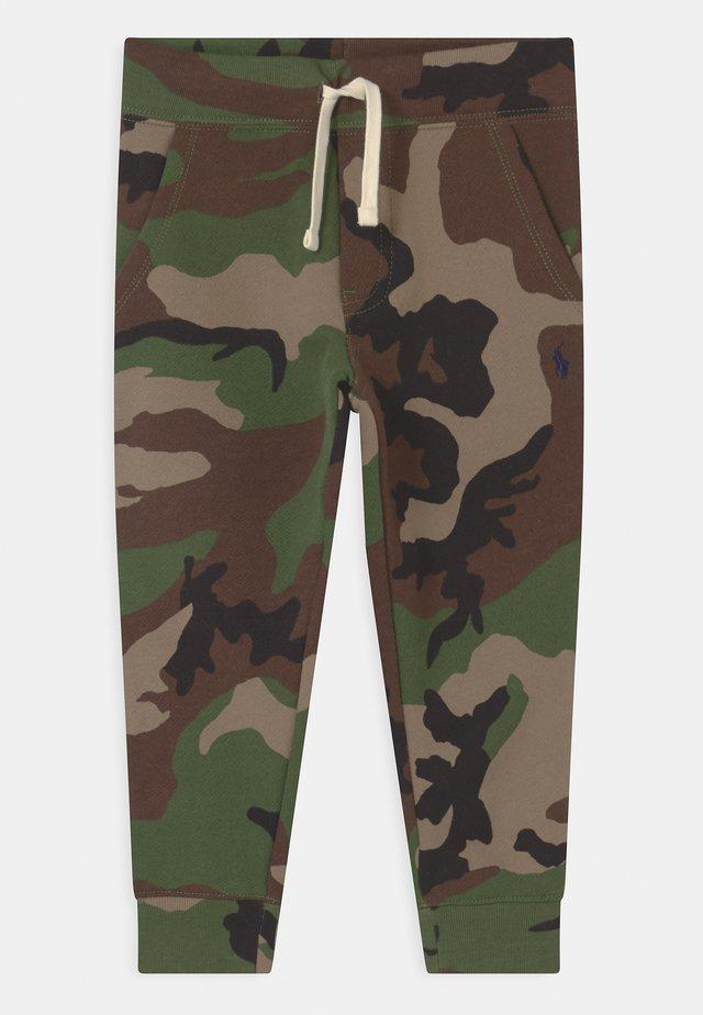 BOTTOMS - Teplákové kalhoty - green